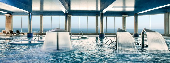 Oia, İspanya: Circuito de talasoterapia del hotel Talaso Atlantico
