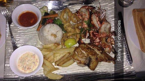 Akemi : sea food platter