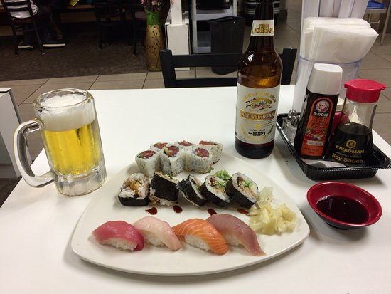 Tokyo Express : お寿司とビール