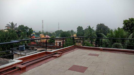 Hotel Royal Bengal Santiniketan: Roof Area