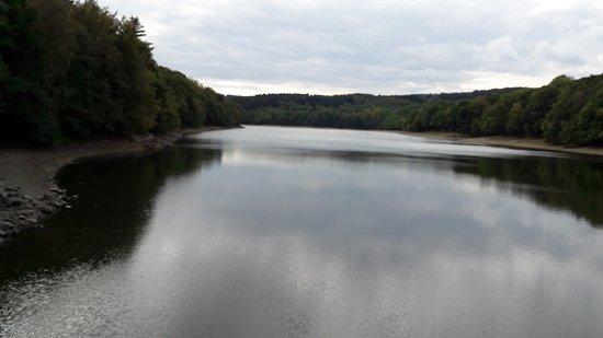 Hagen, Niemcy: Blick vom Staudamm aus