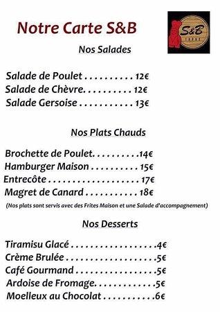 Fonsorbes, France: Formule du midi 14,90€