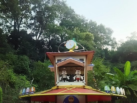 Kawachinagano, ญี่ปุ่น: 入り口にあるオブジェ