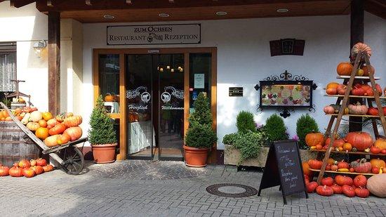 Schallstadt, Deutschland: Eingang Restaurant/Stammhaus
