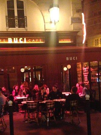 Cafe Le Buci: Terrasse