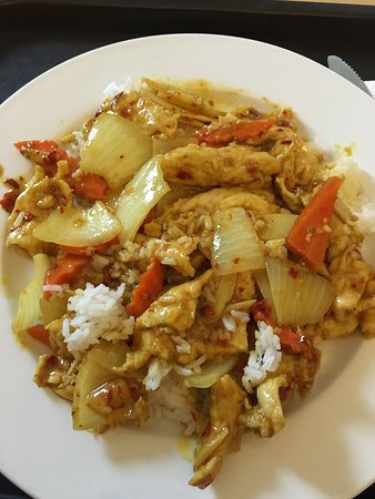 Canton, MI: Curry Chicken