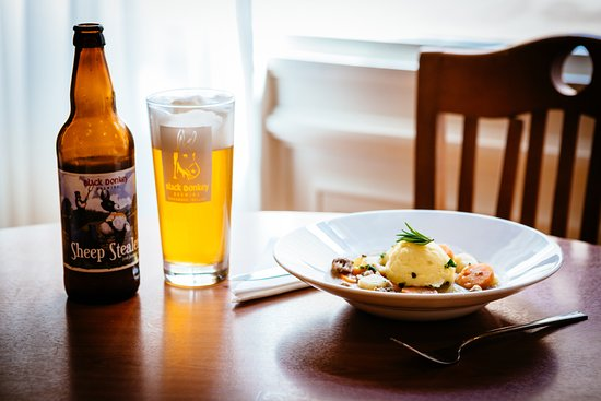 Enjoy a local craft beer and Roscommon lamb at Gleesons