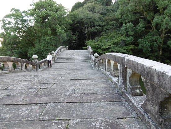 Isahaya, Japan: 橋の上から