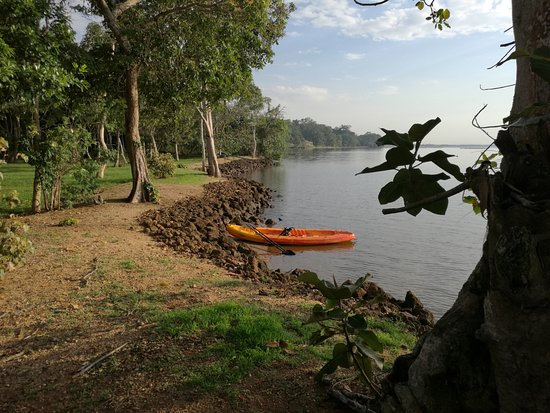 Masaka, Uganda: Enjoy kayaking at Orchids Village