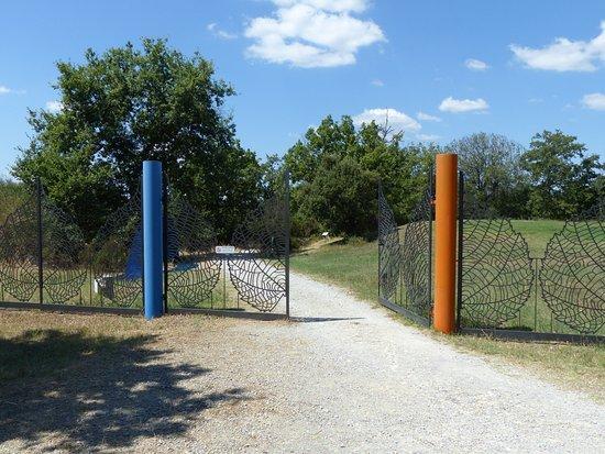 Pievasciata, Italien: Eingang zum Park