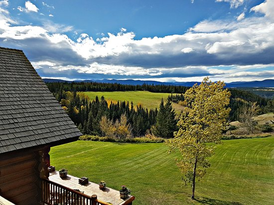 Echo Valley Ranch & Spa: Aussicht
