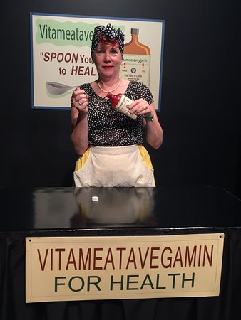 Jamestown, NY: Perform the Vitameatavegamin ad and see yourself on tv!