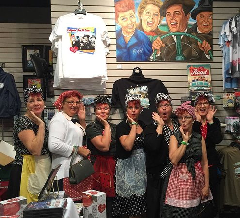 Jamestown, NY: 7 Ontario Lucys in the gift shop