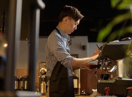 Halifax Region, Canada: Our barista
