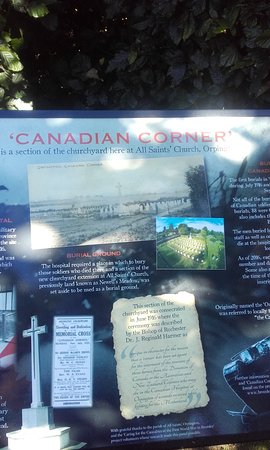 ‪Canadian Corner War Graves‬