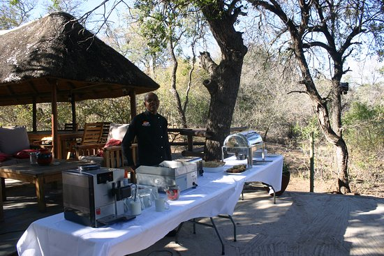 Balule Nature Reserve, Sudáfrica: ready for breakfast