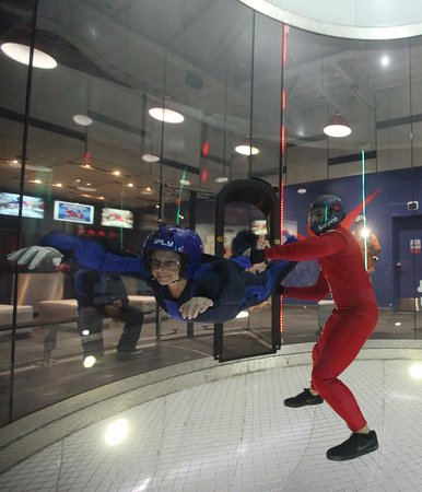iFLY Austin Indoor Skydiving: She loved this