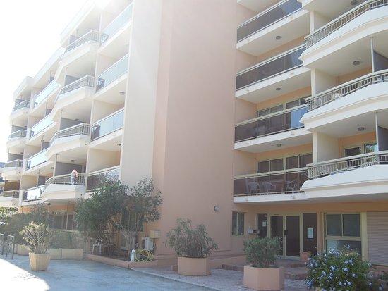 Pierre & Vacances Residence Les Platanes: Vue sur l'ensemble de la résidence et de la réception