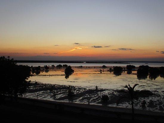 Ibo, Μοζαμβίκη: Sunset over the mangrove plain