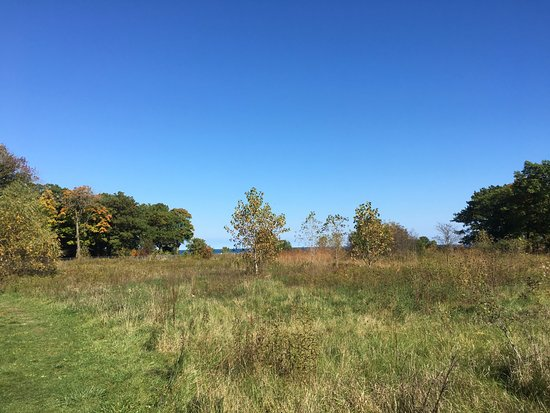 Lake Forest, IL: Fort Sheridan forest reserve with trails