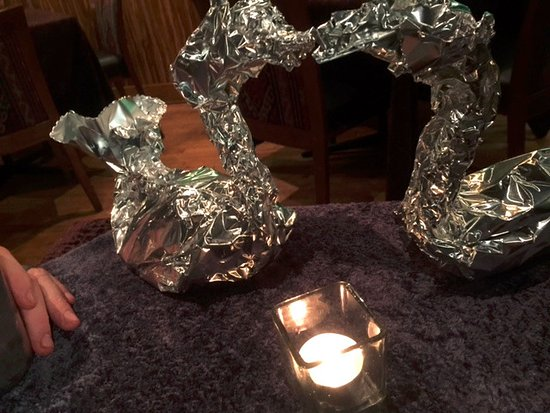 Bhima's Warung: Your leftovers are made into little swans!