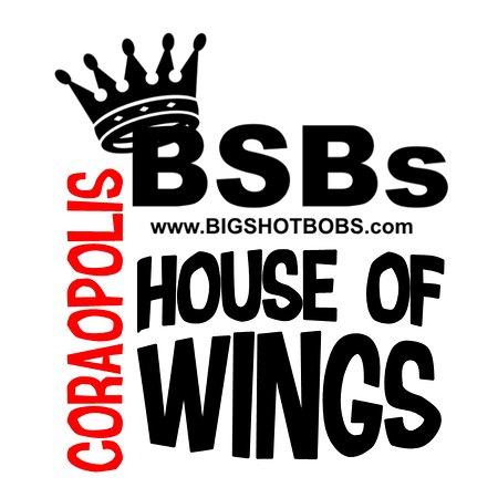 Big Shot Bob's House of Wings Coraopolis: BSB Coraopolis Logo