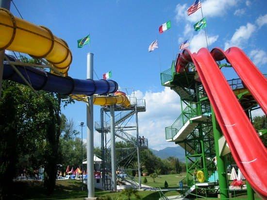 L' Haway Park di Cassino è uno dei parchi  acquatici più grandi del Centro Italia, ha  una pisci