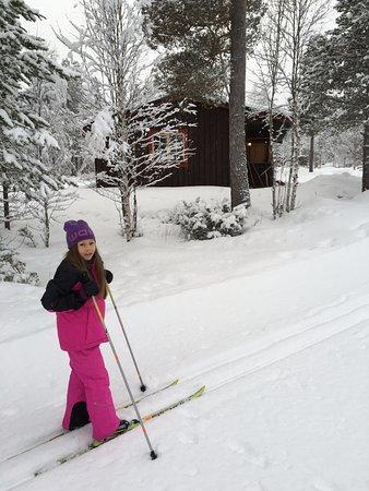 Bruksvallarna, Suecia: Skidspåren är runt knuten!
