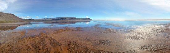 Latrabjarg, Islandia: Strandpano