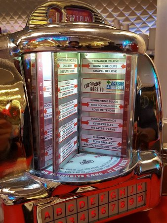 the tabletop jukebox that held our attention for a good 20mins!