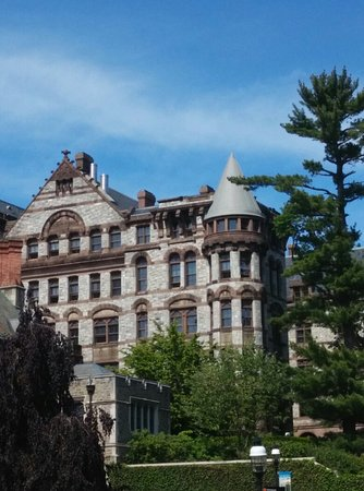 Graduate Dorm and other grand old buildings of Princeton University