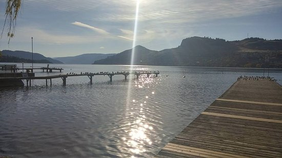 Vernon, Canada: Docks