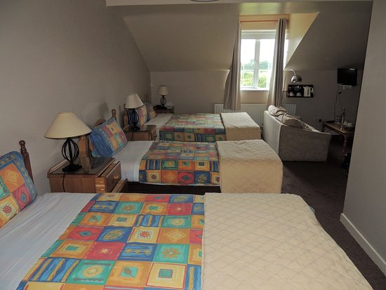 Ballyconneely, Irlanda: Notre chambre.