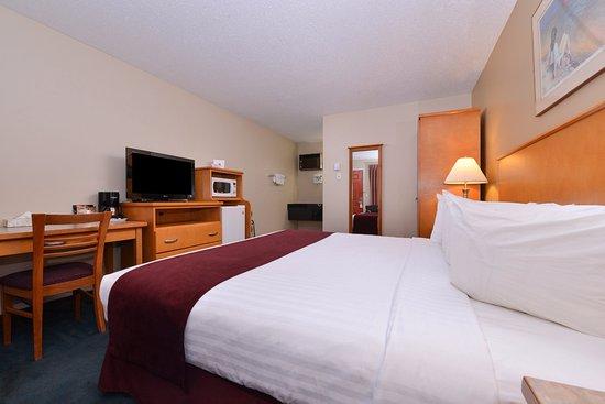 เวอร์นอน, แคนาดา: One King Bed