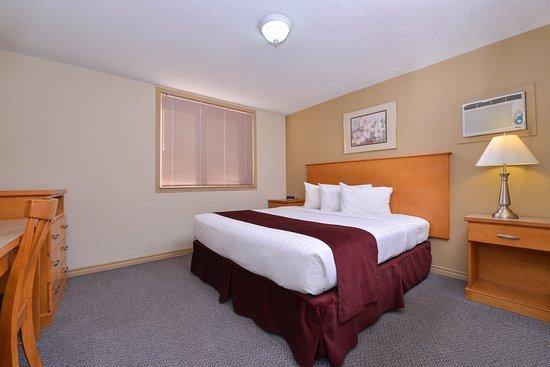 เวอร์นอน, แคนาดา: One Queen Bed Suite