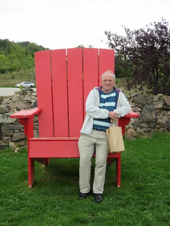 Grey County, Canadá: Giant chair