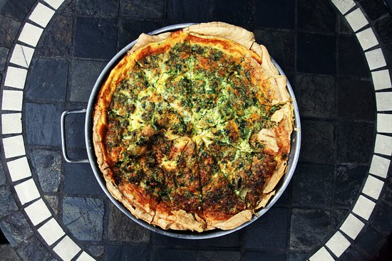 Old Europe Coffee & Pastries: Broccoli and Cheddar Quiche