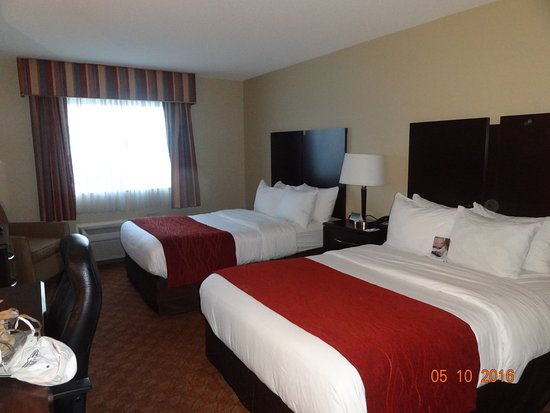 Comfort Inn & Suites: Comfortable beds