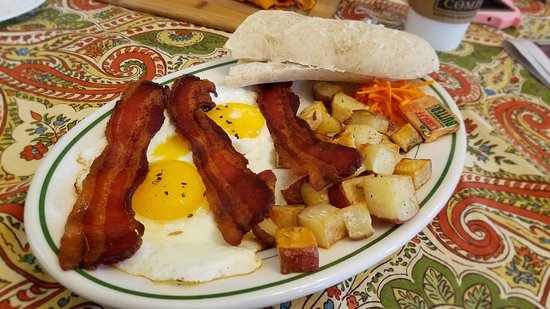 Cambridge, Estado de Nueva York: breakfast plate