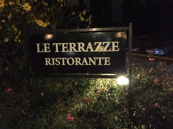 Costa Sant' Abramo, Italy: The restaurant sign