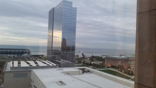 more windows and city view behind closed curtains - Picture of ...