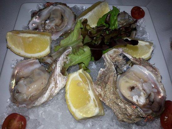 Arniston, Zuid-Afrika: Oyster starter