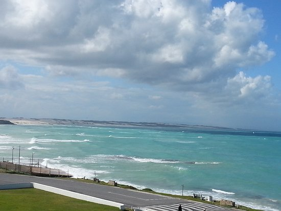 Arniston, Zuid-Afrika: View from bedroom balcony