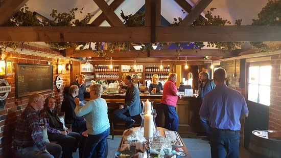 Sixpenny Handley, UK: Inside the Sixpenny Tap