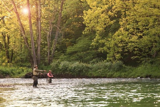 Fort Lewis Lodge: Great fishing