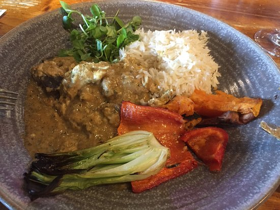 Poulton Le Fylde, UK: Cambodian lightly spiced aromatic curry