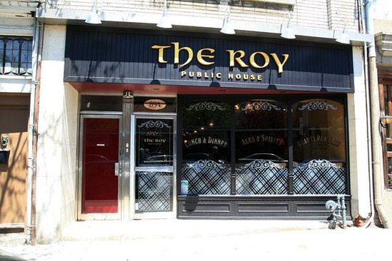 Photo of English Restaurant The Roy Public House at 894 Queen St E, Toronto M4M 1J3, Canada