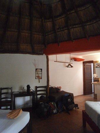 Don Diego de la Selva: interior de la cabaña