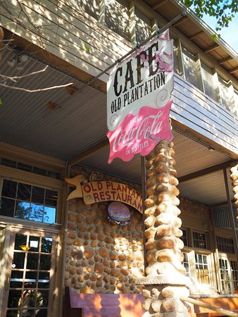 ‪‪Medicine Park‬, ‪Oklahoma‬: Old Plantation restaurant .. the place to eat in downtown Medicine Park‬