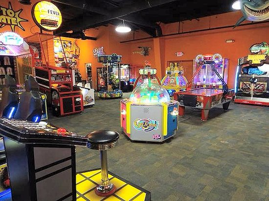 Logan, WV: game room